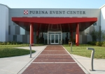Purina Event Center, site of Opening Ceremonies, Registration, Handlers' & Annual Meeting